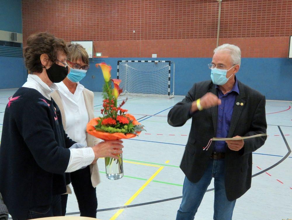 TV Ehrenmitglied Bernhard Fröhleke erhielt die WTB-Verbandsehrung